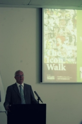 Opening THE ICON WALK