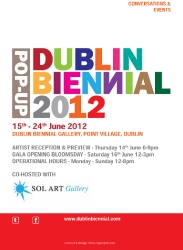The Icon Walk at Dublin Biennal Pop-Up 2012