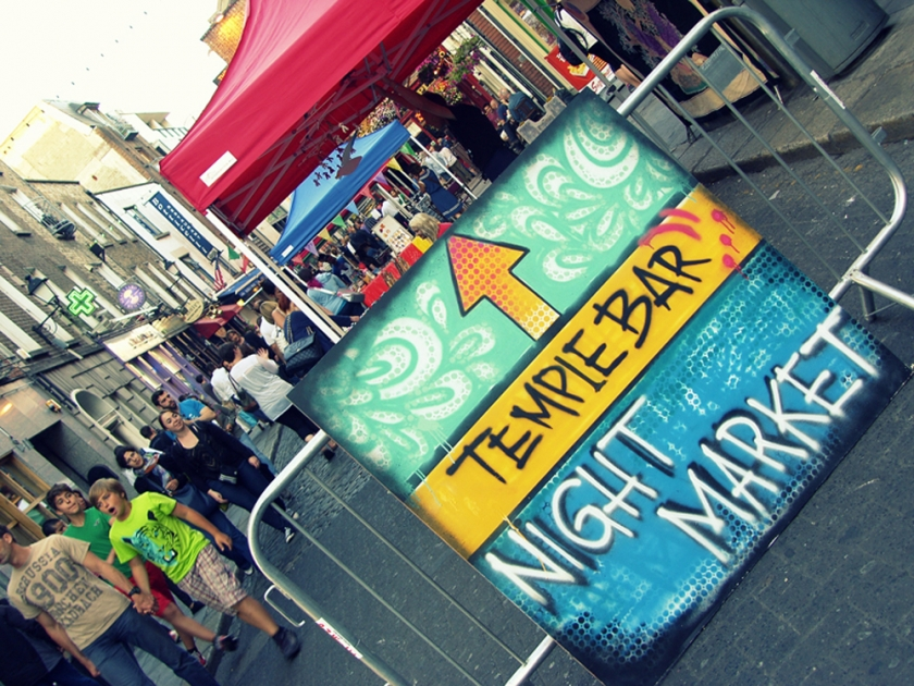 TEMPLE BAR NIGHT MARKET: Come visit The Icon Factory market stall.