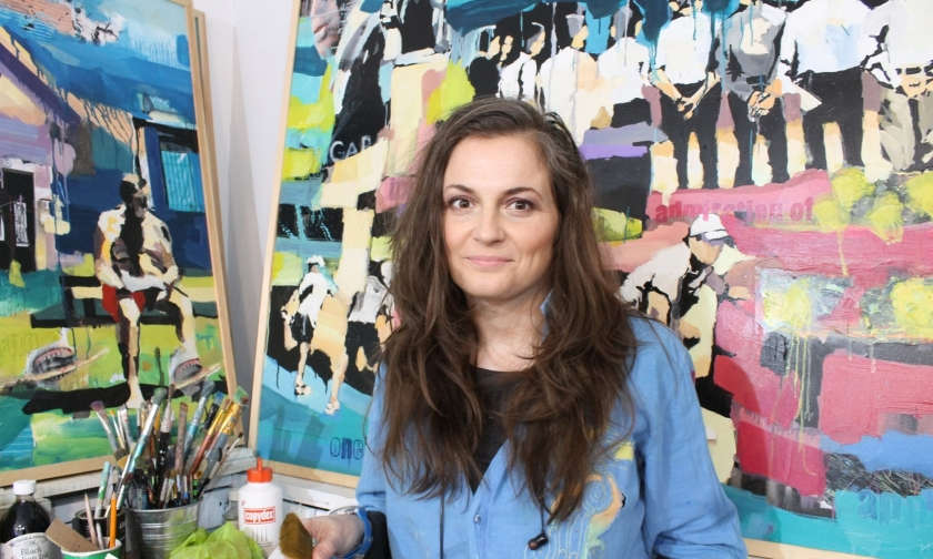 VAGABUNDLER - Interview of the resident artist Aga Szot
