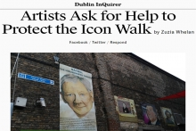 DUBLIN INQUIRER - Artists Ask for Help to Protect the Icon Walk