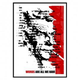 Samuel Beckett Fine Art Print