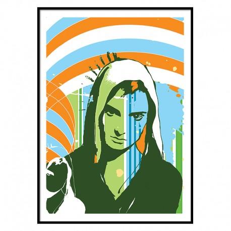 Sinead O'Connor Fine Art Print The Icon Walk The Icon Factory Dublin