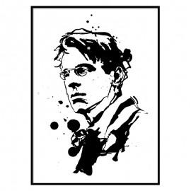 William Butler Yeats Fine Art Print  the icon walk the icon factory dublin