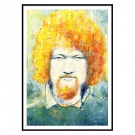 Luke Kelly Fine Art Print