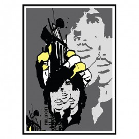 Phil Lynott Fine Art Print
