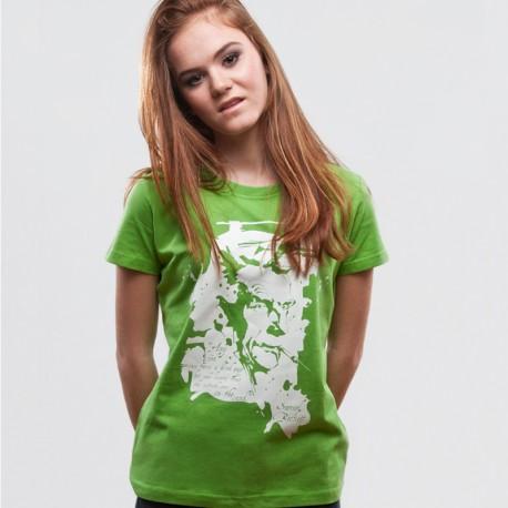 Samuel Beckett Green Tshirt
