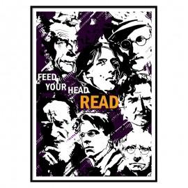 Feed Your Head Read Fine Art Print