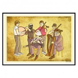 The Chieftains Fine Art Print