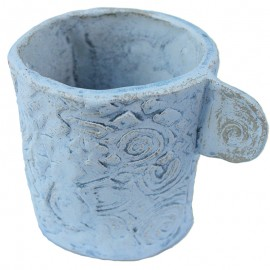 Hand Made Ceramic Cup by Iwona Kreciwilik created in Pottery Studio in Goldsmith Hall Trinity College Dublin