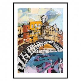 Ha'penny Bridge Dublin Print