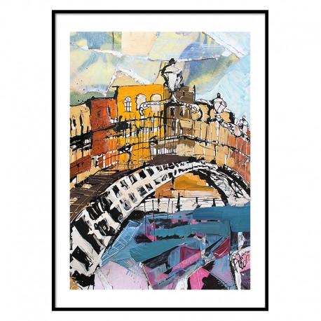 Ha'penny Bridge Dublin Print The icon factory The icon walk Dublin