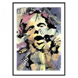 Van Morrison Fine Art Print
