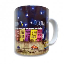 Dublin by night Mug The icon factory The icon walk Dublin