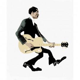 'Chuck Berry'  Framed Limited edition print by Seán Lennon