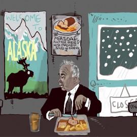 'John Prine Stuck in Alaska' Framed Limited Edition Print