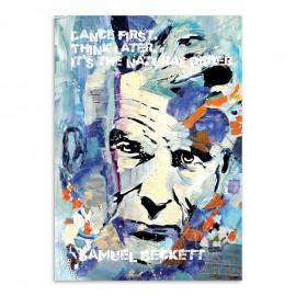 Samuel Beckett Postcard