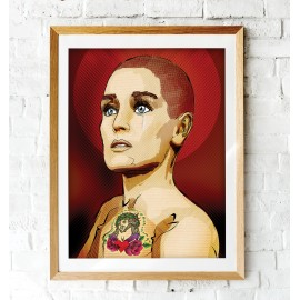 SINEAD O'CONNOR - A3 POSTER