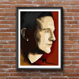 DAMIEN DEMPSEY - A3 POSTER
