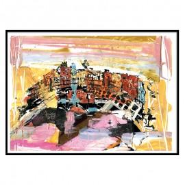 Ha Penny Bridge Dublin Fine Art Print